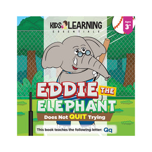 Eddie The Elephant Does Not Quit Trying Hardcover