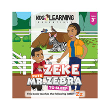 Load image into Gallery viewer, Zeke Puts Mr. Zebra To Sleep Hardcover