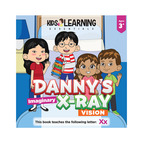Danny's Imaginary X-ray Vision Hardcover