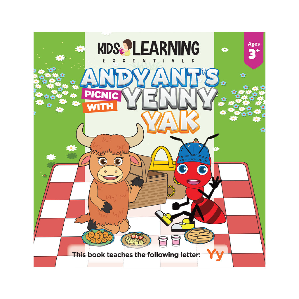 Andy Ant's Picnic With Yenny Yak Hardcover