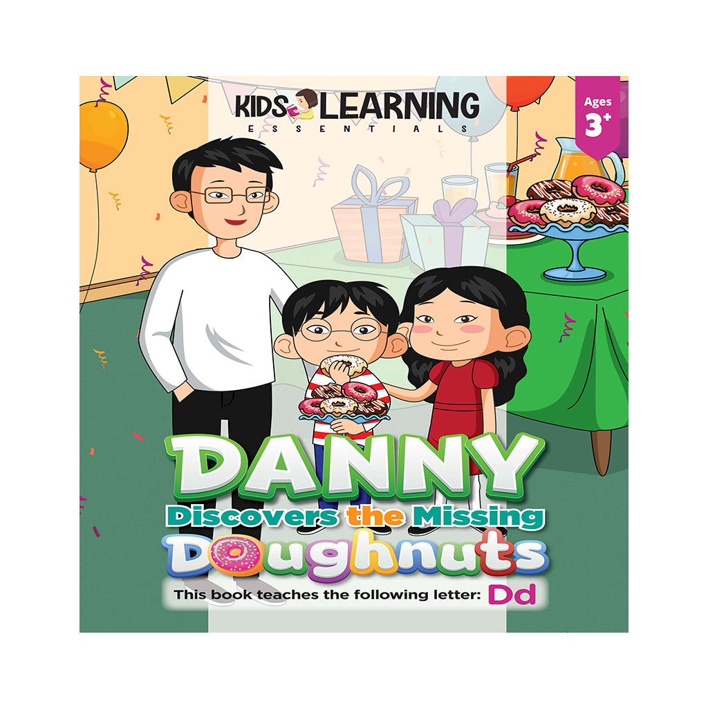Danny Discovers The Missing Doughnuts Hardcover