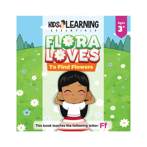Flora Loves To Find Flowers Hardcover