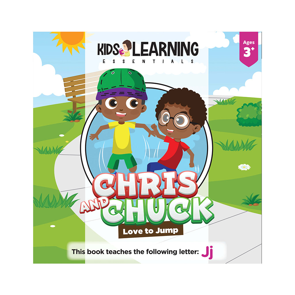 Chris And Chuck Love To Jump Hardcover