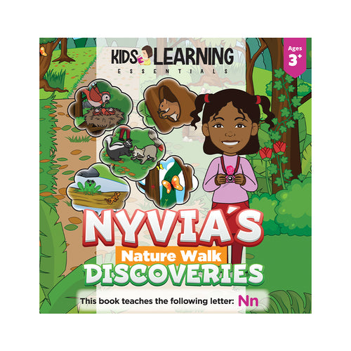 Nyvia's Nature Walk Discoveries Hardcover