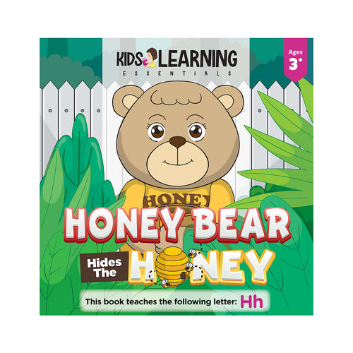 Honey Bear Hides The Honey