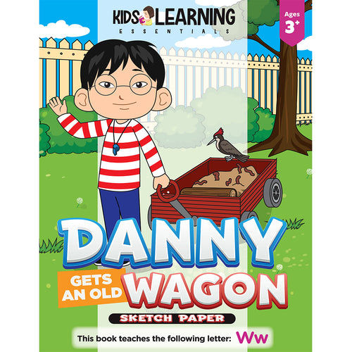 Danny Gets An Old Wagon Sketch Paper