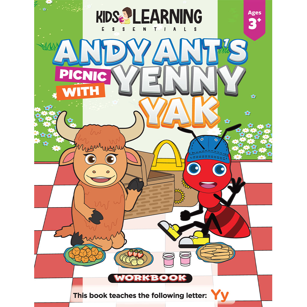 Andy Ant's Picnic With Yenny Yak Workbook