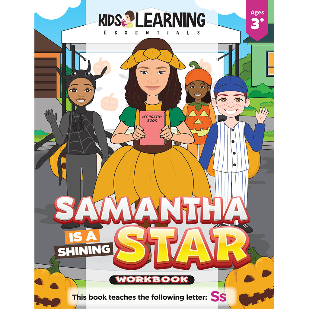 Samantha Is A Shining Star Workbook