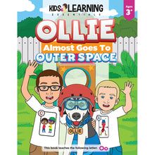Load image into Gallery viewer, Ollie Almost Goes Into Outer Space Story + Workbook