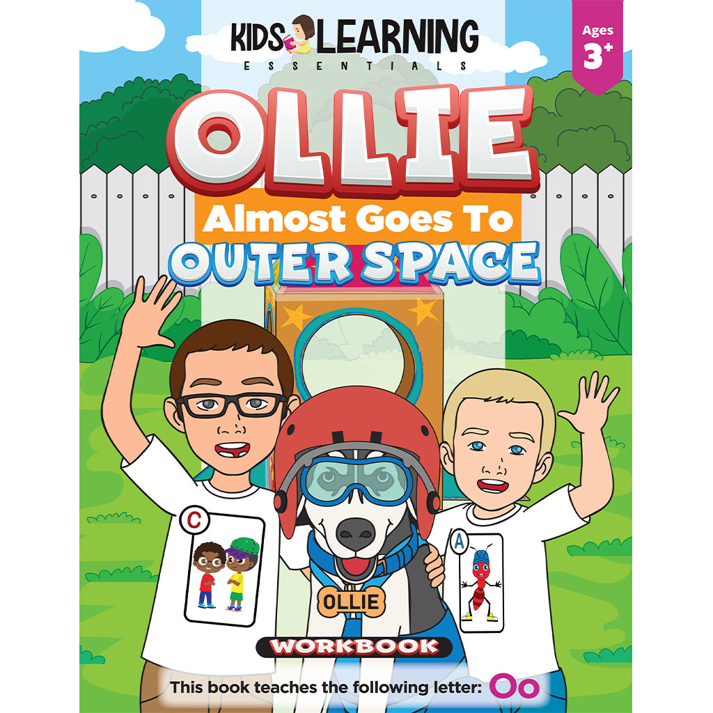 Ollie Almost Goes To Outer Space Workbook