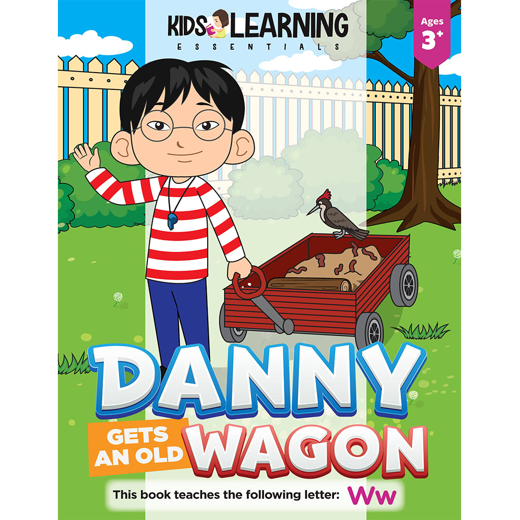 Danny Gets An Old Wagon Story + Workbook