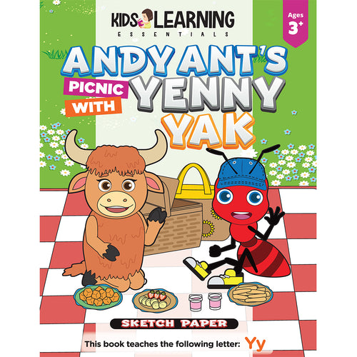 Andy Ant's Picnic With Yenny Yak Sketch Paper