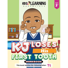 Load image into Gallery viewer, KJ Loses His First Tooth Workbook