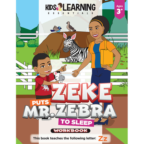 Zeke Puts Mr. Zebra To Sleep Workbook
