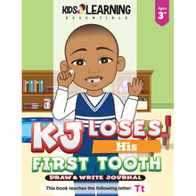 Load image into Gallery viewer, KJ Loses His First Tooth Draw & Write Journal