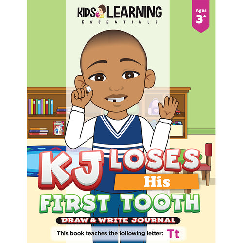 KJ Loses His First Tooth Draw & Write Journal