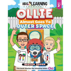 Ollie Almost Goes To Outer Space Sketch Paper