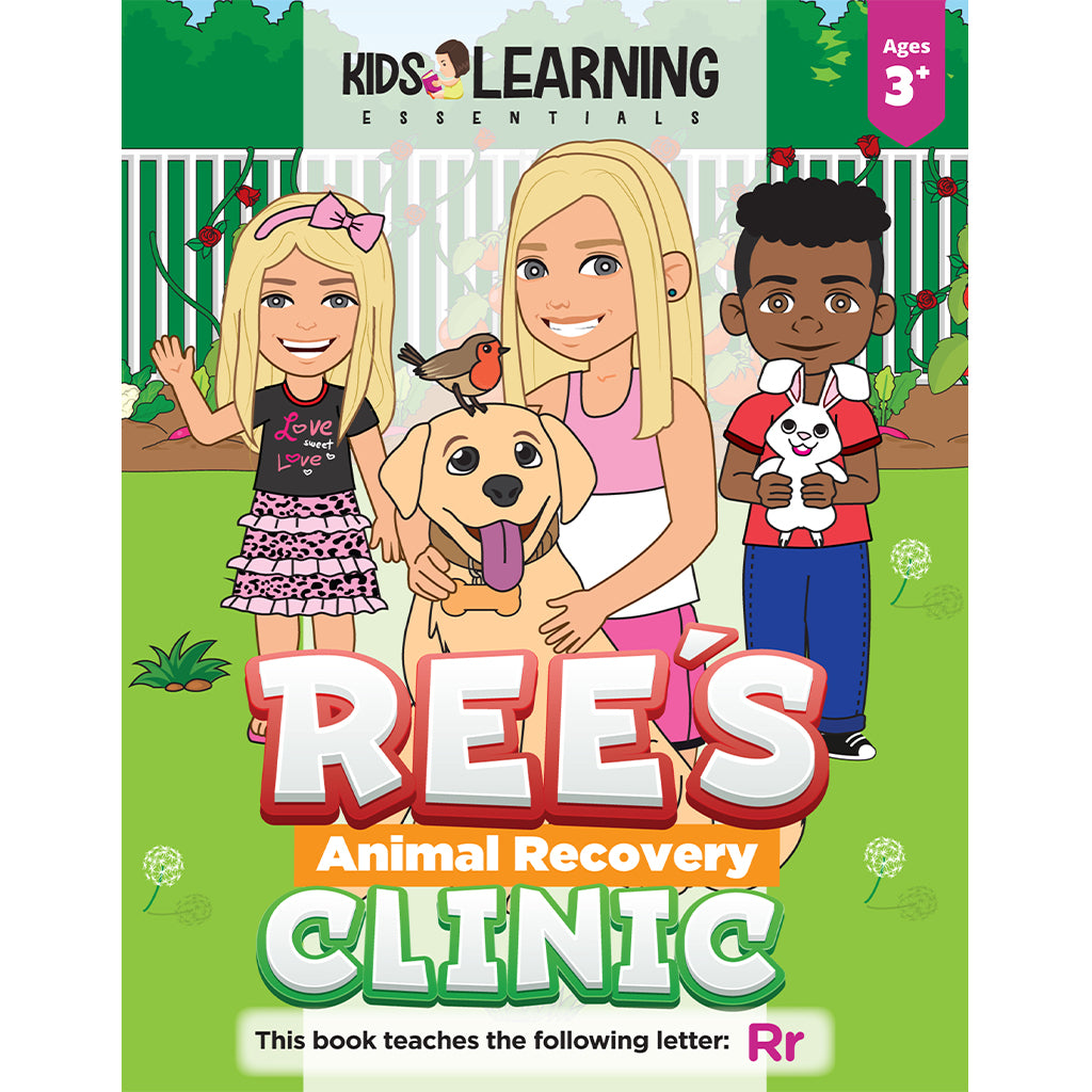 Ree's Animal Recovery Clinic Story + Workbook