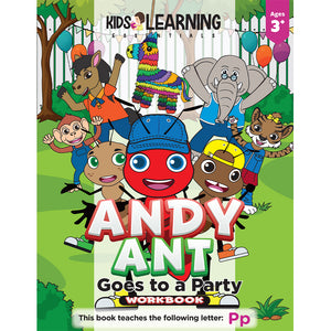 Andy Ant Goes To A Party Workbook