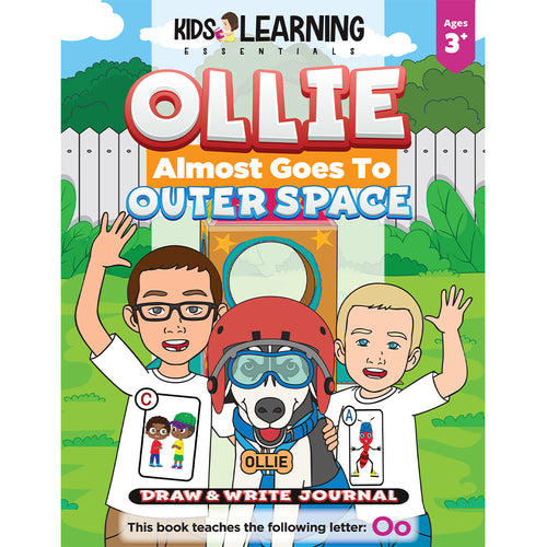 Ollie Almost Goes To Outer Space Draw & Write Journal