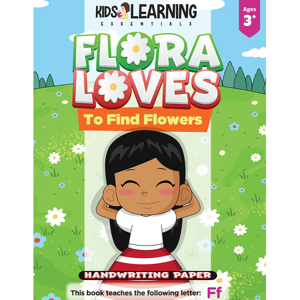 Flora Loves To Find Flowers Handwriting Paper