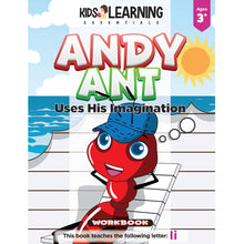 Load image into Gallery viewer, Andy Ant Uses His Imagination Workbook