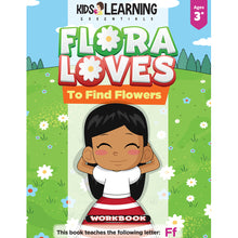 Load image into Gallery viewer, Flora Loves To Find Flowers Workbook
