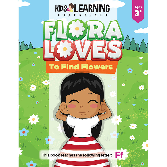 Flora Loves To Find Flowers Story + Workbook