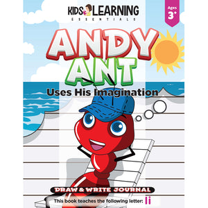 Andy Ant Uses His Imagination Draw & Write Journal