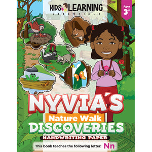 Nyvia's Nature Walk Discoveries Handwriting Paper