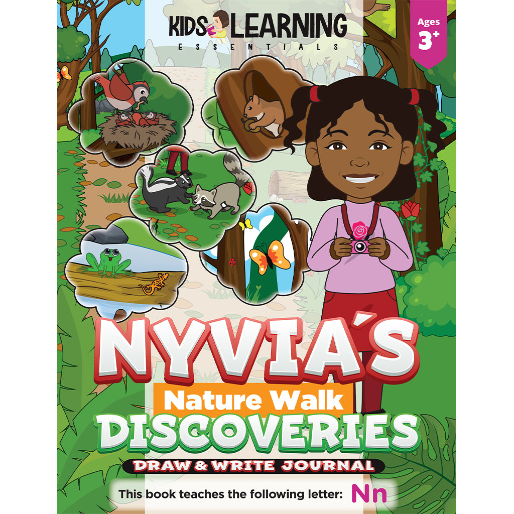 Nyvia's Nature Walk Discoveries Draw & Write Journal