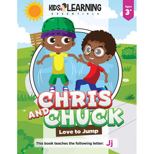 Chris And Chuck Love To Jump Story + Workbook