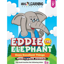 Load image into Gallery viewer, Eddie The Elephant Does Excellent Things Draw & Write Journal