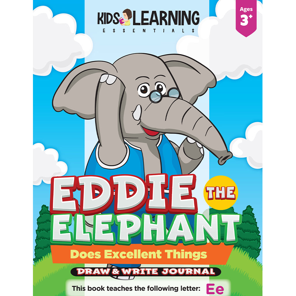 Eddie The Elephant Does Excellent Things Draw & Write Journal