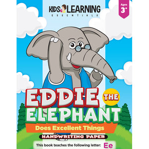 Eddie The Elephant Does Excellent Things Handwriting Paper