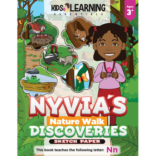 Nyvia's Nature Walk Discoveries Sketch Paper