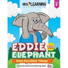 Load image into Gallery viewer, Eddie The Elephant Does Excellent Things Story + Workbook