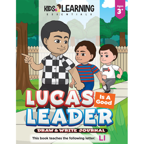 Lucas Is A Good Leader Draw & Write Journal