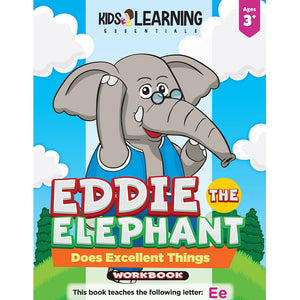 Eddie The Elephant Does Excellent Things Workbook