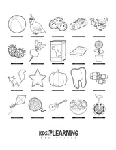 Load image into Gallery viewer, Toddler Coloring Book Vol. 1 - Digital Edition