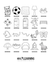 Load image into Gallery viewer, Toddler Coloring Book Vol. 2 - Digital Edition