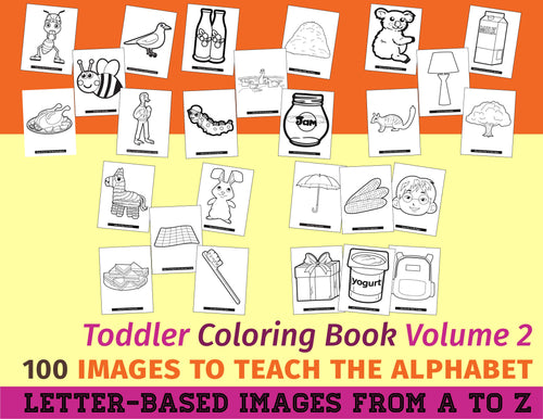 Toddler Coloring Book Vol. 2