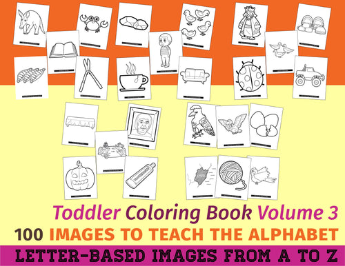 Toddler Coloring Book Vol. 3