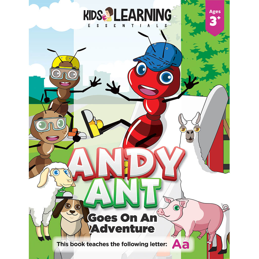 Andy Ant Goes On An Adventure Story + Workbook