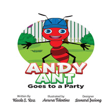 Load image into Gallery viewer, Andy Ant Goes To A Party Hardcover