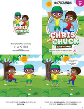 Load image into Gallery viewer, Chris And Chuck Love To Jump Story + Workbook