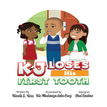 Load image into Gallery viewer, KJ Loses His First Tooth Hardcover