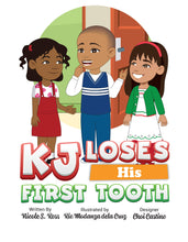 Load image into Gallery viewer, KJ Loses His First Tooth Story + Workbook