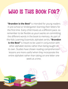 Brandon Is The Best Story + Workbook