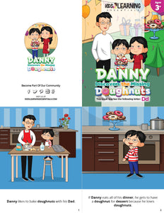 Danny Discovers The Missing Doughnuts Story + Workbook
